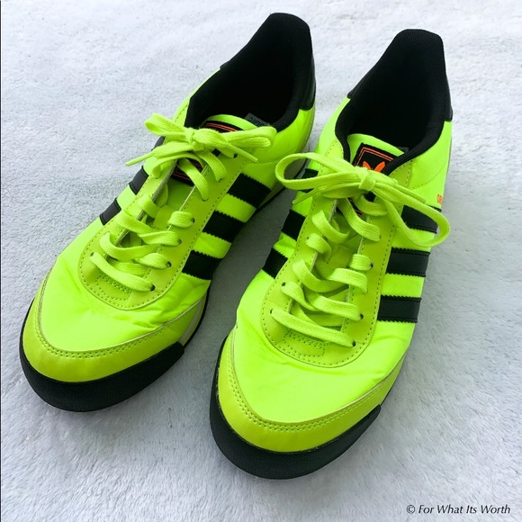 adidas Other - Adidas Orion Neon Green Sneakers